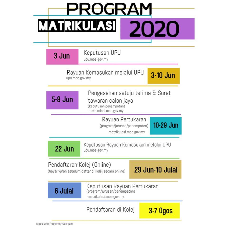 Program Matrikulasi 2020 2021 Kolej Matrikulasi Kejuruteraan Pahang